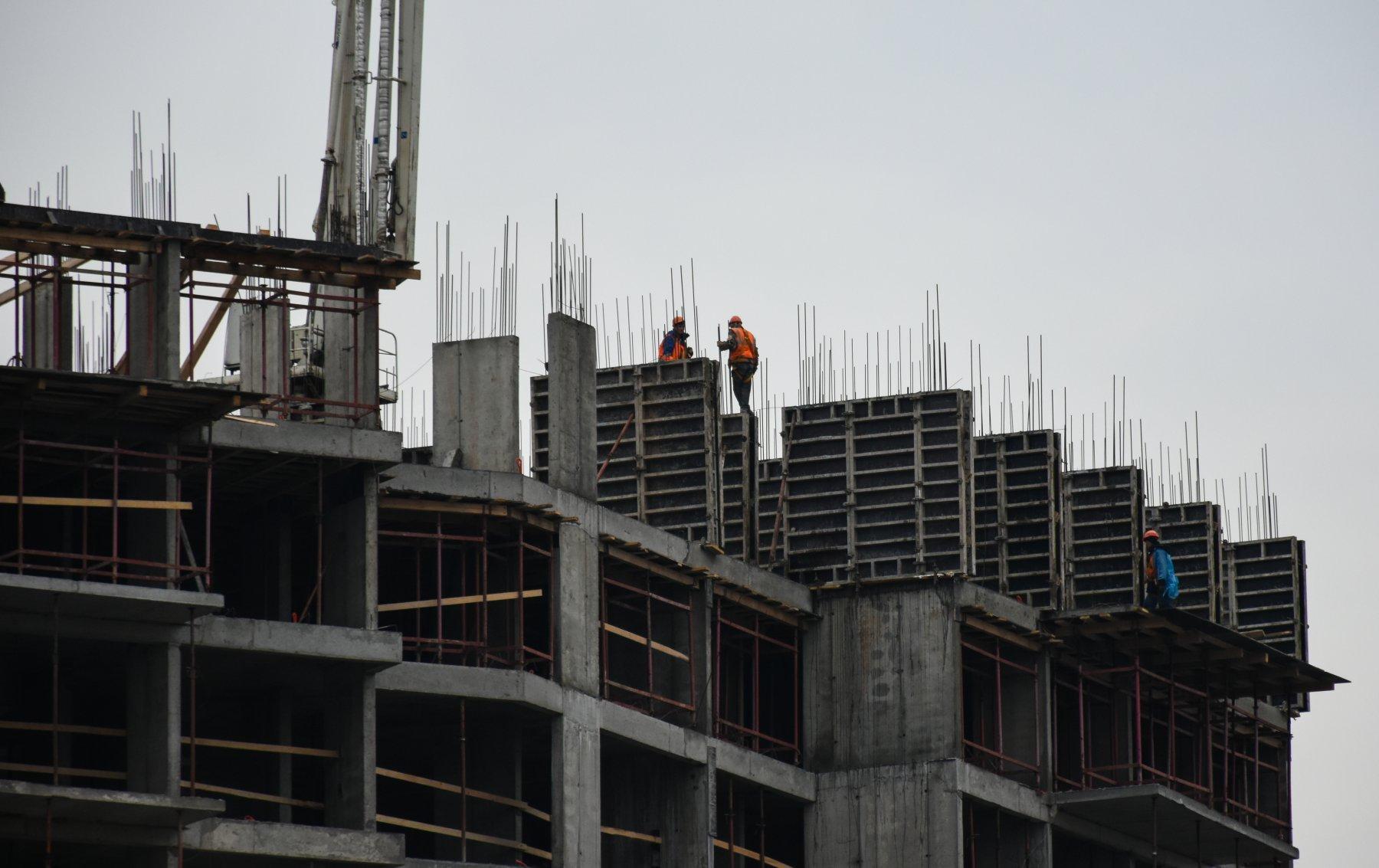 За полгода вМоскве пореновации построили 6 жилых домов