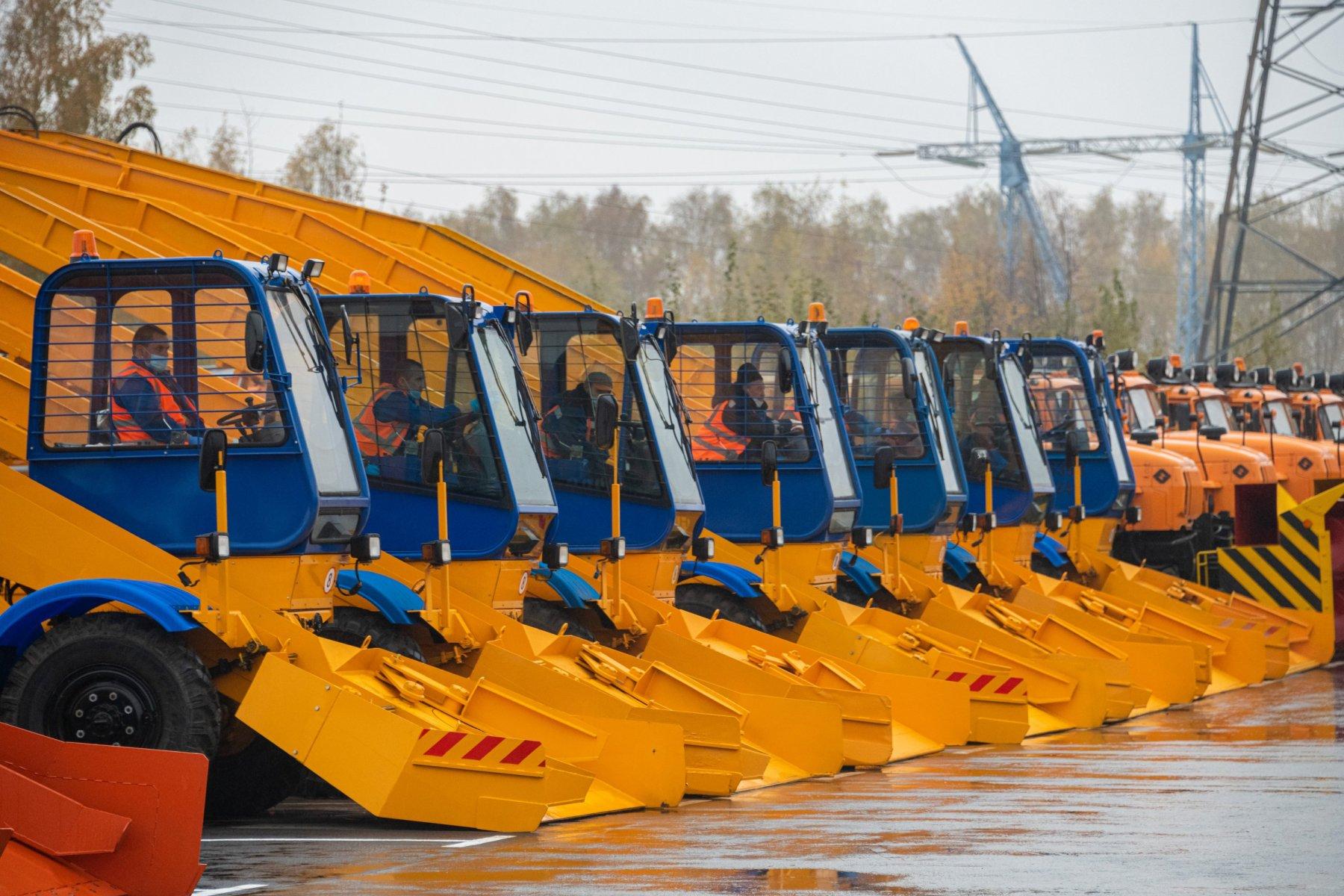 Дорожная техника Московской области готова к зиме