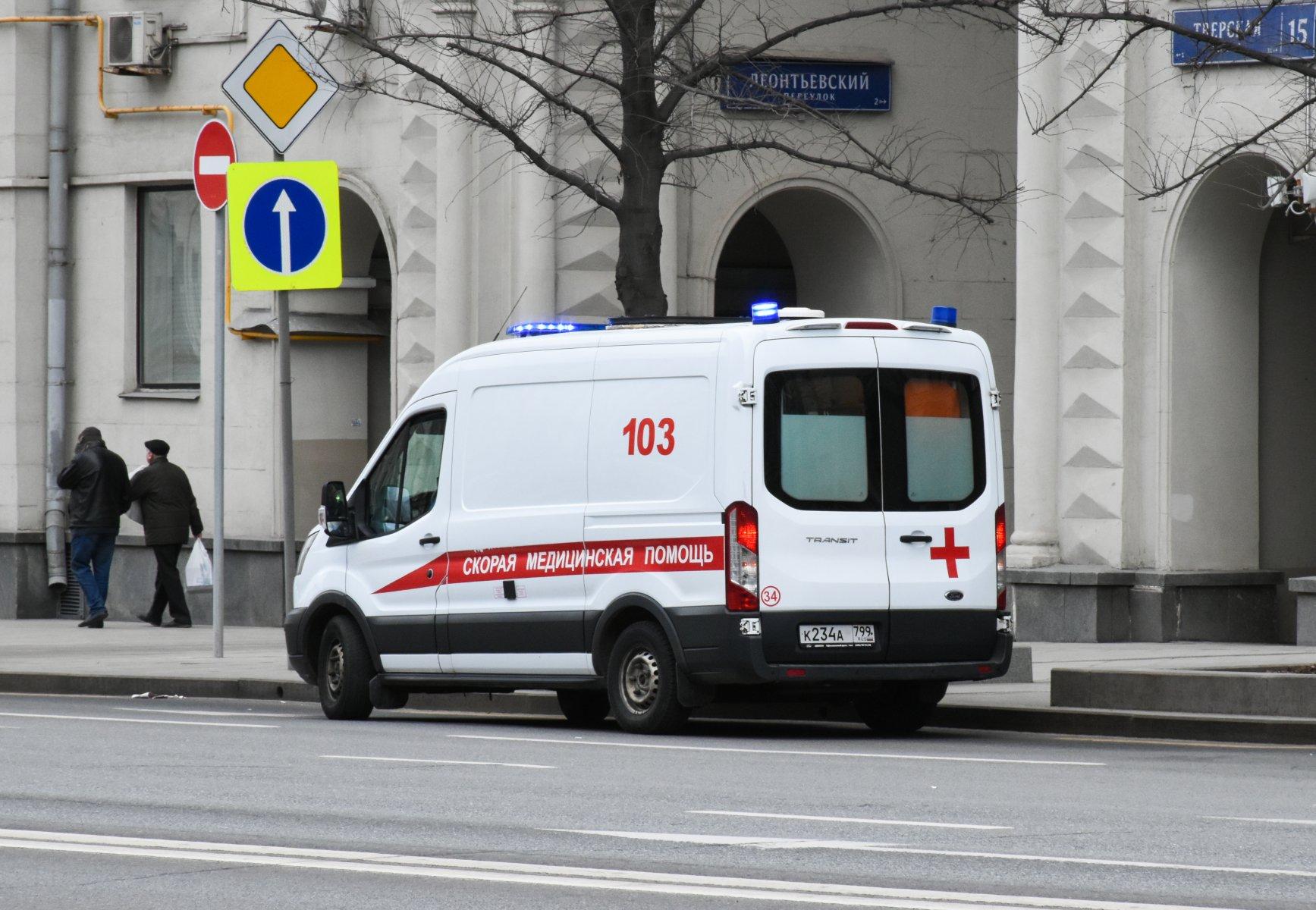 В Московской области мужчина зарезал отца, вызвал полицию, а затем выпрыгнул из окна