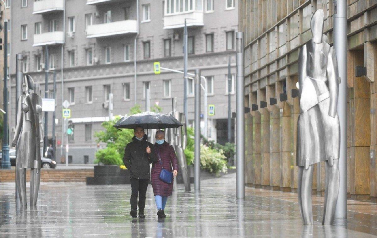 Когда дожди уйдут из Москвы