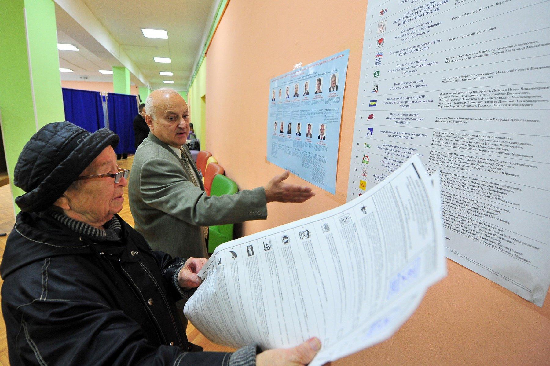 Выборы в Госдуму — Люберецкий одномандатный избирательный округ № 121