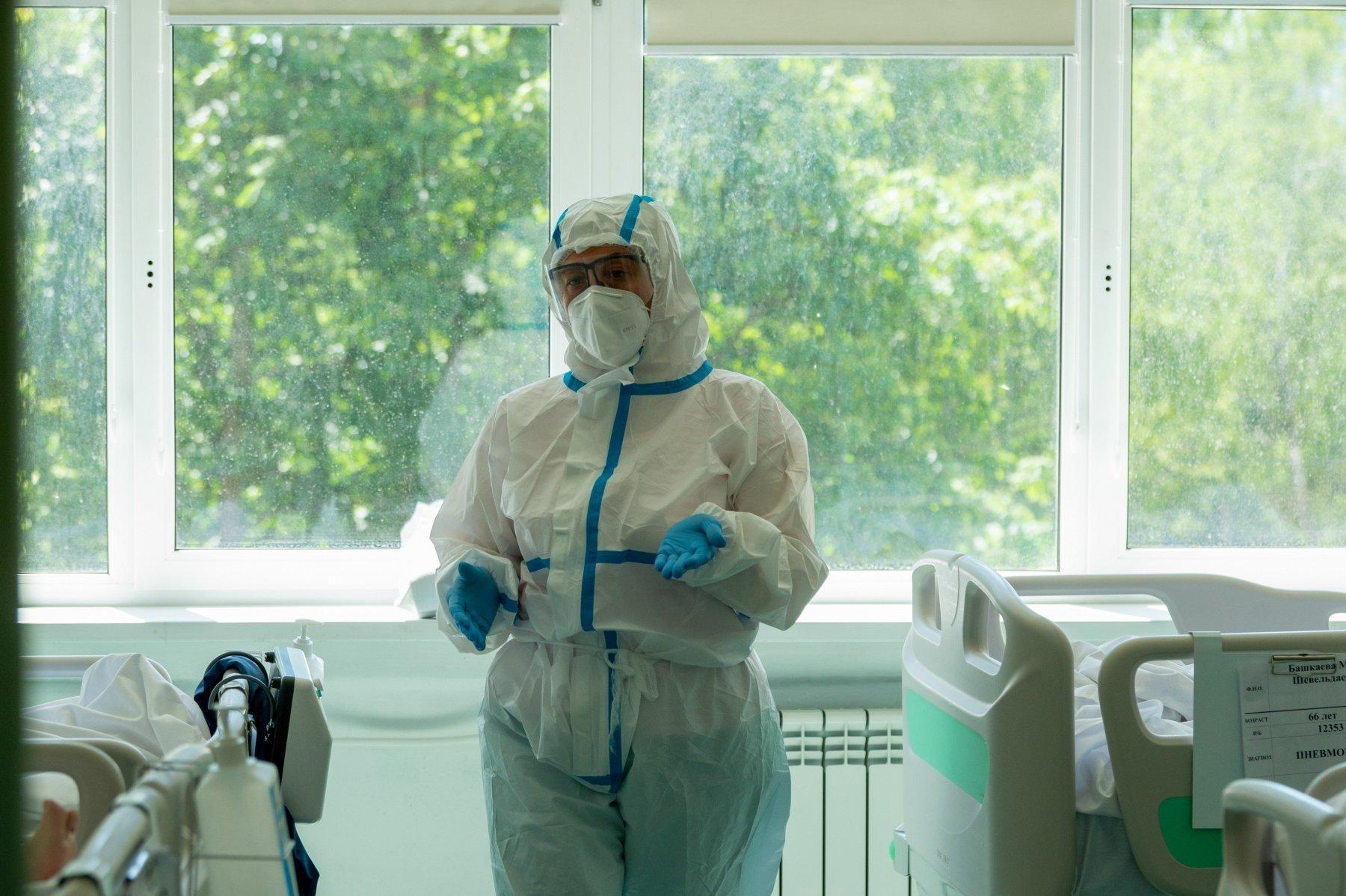 Главный врач Коммунарки рассказал о возможной выспушке коронавируса осенью